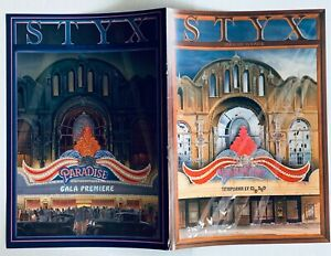 STYX vintage 1980 promo ADVERT PARADISE THEATRE