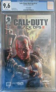 Call of Duty Black Ops III #1 CGC 9.6 White Pages Loot Crate Edition