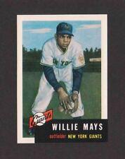 1991 Topps Archives WILLIE MAYS 1953 Topps Reprint #244 Giants HOF