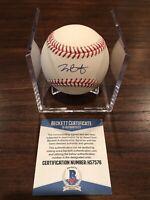 Joey Bart Autographed Official Rawlings MLB Baseball ROMLB SF Giants Beckett