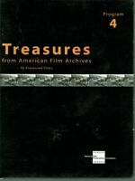 Treasures from American Film Archives: Program 4 (1 Disc only, DVD, 2000)
