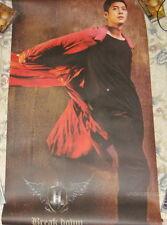 "SS501 Kim Hyun Joong Break Down Taiwan Promo Giant Poster (51""X26"")"