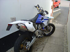 Yamaha WR450 YZ450 Escape furor Nero Slip On por GPR Escapes Italiano Made
