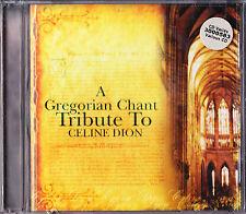 CD NEUF 2004 * Hommage à CELINE (Céline) DION * Chant Grégorien (Gregorien) *