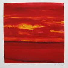 "GLORIA MAROJEVIC ""SKY I"" Hand Signed Limited Edition Giclee"