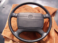 Lederlenkrad schwarz, 39,5 cm, mit SRS, BMW 7er E 23, 5er E 12, 6er E 21