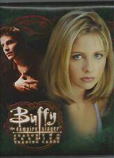 Buffy the Vampire Slayer Season 2 Collector 3 Ring Padded Album