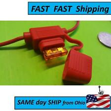 2 PACK ---- OEM style battery fuse block / terminal - red positive battery fuse