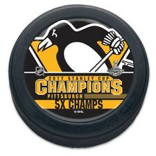 Pittsburgh Penguins 2017 Stanley Cup Champions NHL Collectors Puck