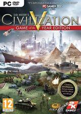 CIVILIZATION V 5 GOTY GAME OF THE YEAR EN CASTELLANO NUEVO PRECINTADO  PC