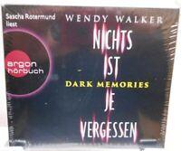 Nichts ist je vergessen + Dark Memories + Hörbuch auf 6 CDs + Wendy Walker /90