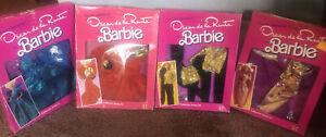 Barbie Oscar De La Renta Fashions , Series.  IV,   V, VI