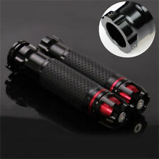 "2x CNC Aluminum Motorcycle Bar Throttle Grip Handle Plug End 22mm 7/8"" Universal"