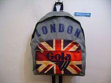 GOLA ZAINO SCUOLA HARLOW MELANGE LONDON CUB717 GREY MELANGE NAVY MULTI GRIGIO BL