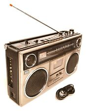 Sanyo M9930 Vintage Boombox Portable Stereo Cassette Player 1979 Tested & Works