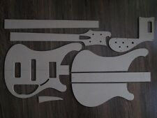 Rickenbacker Bass 4001 Stencil templates gitarrenbau
