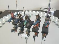 Warhammer AOS Elfes Noirs ELF AELF drakespawn Chevaliers froid et base B6 F