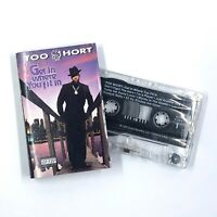TOO SHORT Get In Where You Fit In Cassette Tape Rap Hip-Hop Rare