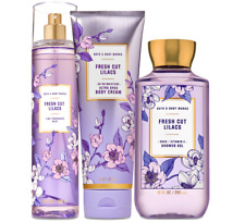 Bath & Body Works Fresh Cut Lilacs Trilogy Set