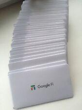 Google Fi Sim Card. Data Only Sim For iPad Tablet Pc Modem Laptop.