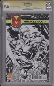 MIRACLEMAN #1 - WIZARD SKETCH VARIANT SIGNED NEAL ADAMS - CGC 9.6 - 1234560014