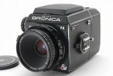 "【NEAR MINT】Bronica EC-TL II ""Black"" w/ NIKKOR-P.C 75mm F2.8 from Japan"