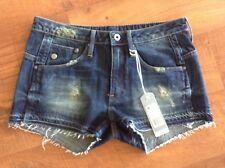 Ladies BNWT Gstar Denim Shorts Size 25