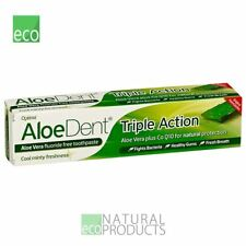 Aloe Dent Natural Triple Action Toothpaste Aloe Vera & Tea Tree 100ml