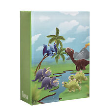 Small Kids Dinosaurs ' 6x4'  Photo Album Slip in Case for 100 Photos AL-9138