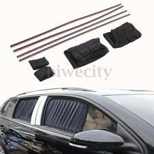 2X Universal Adjustable Car Window Curtain Sun shade Visor Block UV Protection