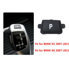 For BMW X5 X6 07-13 Gear Shift Knob Lever P Button Cover
