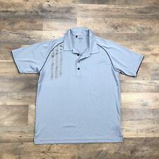 Adidas Golf Polo Shirt Men's Medium ClimaCool Short Sleeve Lightweight Adizero