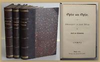Ernst von Wildenbruch Opfer um Opfer 1883 3 Bde Schauspiel Kunst Kultur sf