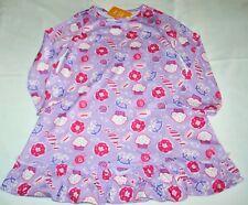 Gymboree Gymmies Sweet Treats Purple Nightgown Pajamas Large 10 12 Kid Girls NWT