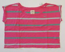 New Hollister Abercrombie Top Little Harbor Womans Tee Shirt Size Medium Large