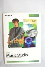 SONY ACID MUSIC STUDIO MUSIC CREATION MIX SOFTWARE COMPLETE SET 2005 ISSUED