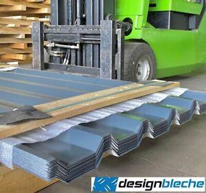 Trapezblech, Dachblech S35/207 RAL7016 Anthrazitgrau, 0,63 mm