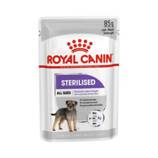 Royal Canin Sterilised All Size Wet Dog Food - 85 g (Pack Of 3)