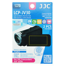 2x Film LCD Screen Display H3 Hard Protection for JVC Camcorder 3.0'' inches