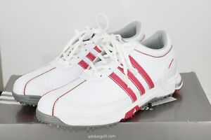 """""NEW"" Women's Adidas Traxion Lite FM 8 W Medium Golf Shoes New In Box"