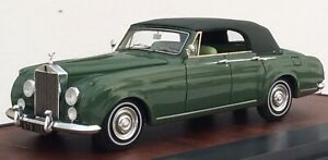 Matrix Models 1962 Rolls Royce Silver Cloud 4 Door Cabriolet Closed