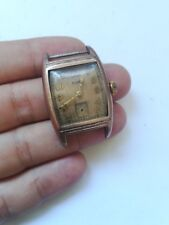 VINTAGE ELGIN 554 USA C166742 HANDWIND WATCH for spare for repair