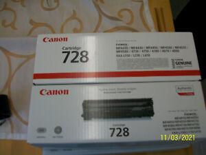 Canon Cartridge 728 i-sensys, schwarz, 2 Stück, Originalverpackung