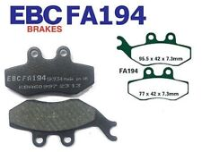 EBC Plaquettes De Frein FA194 AVANT RIEJU RS2 50 cc Pro (AJP ÉTRIER) 06-10
