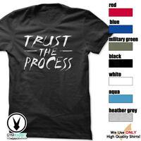 TRUST THE PROCESS T-Shirt Workout Gym BodyBuilding MMA Fitness Motivation c602
