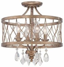 Minka Lavery 4403-581 West Liberty 4-Light Mini Chandelier - Olympus Gold