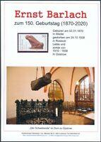 Ernst Barlach Gedenkblatt anlässlich 150. Geburtstag, Blinder Bettler (3)