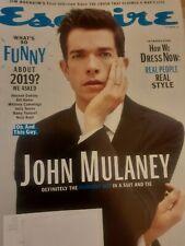Esquire Magazine October 2019 John Mulaney