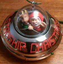 Starship Christmas Ornament 1990 Hallmark Cards