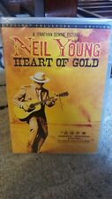 Neil Young - Heart of Gold dvd rare oop